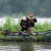 Выбор надувной лодки и лодочного мотора для рыбалки