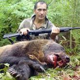 Охота на медведя в Восточной Сибири