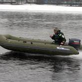Сборка и разборка надувной лодки