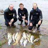 Подводная охота на реке Воронеж