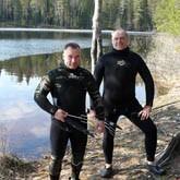 Подводная охота на севере: охота на сига