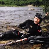Трофеи подводной охоты - рыбы быстрых рек