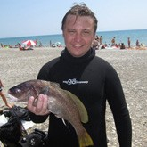 Подводная охота на Черном море