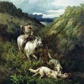 Охота и рыбалка в былые времена