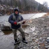 Рыбалка нахлыстом на Лангери