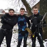Подводная охота на Угре
