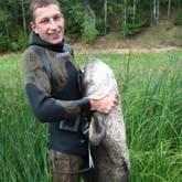 Подводный охотник из Новгородской области