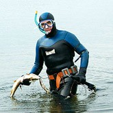 Подводная охота: Глубинный охотник из Воронежа