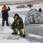 Мартовская рыбалка на Долгобродском водохранилище