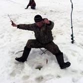 Зимняя рыбалка на базе Дворянское гнездо