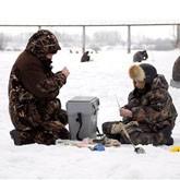 Рыбалка по последнему льду в Самаре