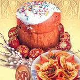 Символика пасхального стола и рецепт кулича