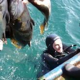 Чемпионат Силовых структур по подводной охоте в Анапе