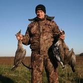 Как охотиться на гусей