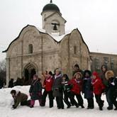 Детский рождественский праздник прошел в Напрудном