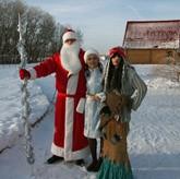 Празднование Нового 2013 года и Рождества на базе «Барсучок»