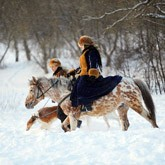 Реконструкция: Псовая охота на конюшне «Аванпост»