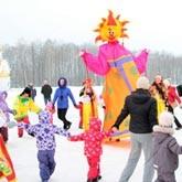 Широкая Масленица прошла в Национальном Конном Парке «Русь»