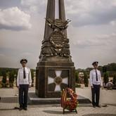 Открытие обелиска «Воинам Первой мировой войны»