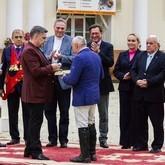 Награждение ветеранов конного спорта орденами Святого Трифона
