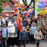 Пасхальный праздник для детей в Переяславской Слободе