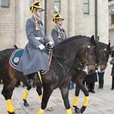 Развод пеших и конных караулов Президентского полка в Кремле - 2012 (ВИДЕО)