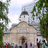 Пасхальный праздник в храме мученика Трифона в Напрудном