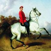 Лошади и охота в творчестве художника Николая Сверчкова