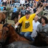 Стрижка диких лошадей - Фестиваль в Испании