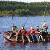Международный фестиваль рыбной ловли на озере Янисъярви