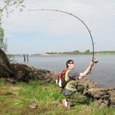 Чемпионат мира по кастингу: Рыболовы закидывали удочки на ипподроме