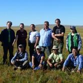 Даурия: Русские эксперты на полевом семинаре в Монголии