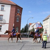 Конные казаки произвели фурор на празднике в германском Нойштадте