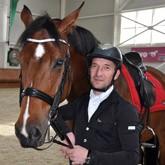 Спортсмен КСК ЛЕВАДИЯ - участник Чемпионата Европы  по паралимпийской выездке