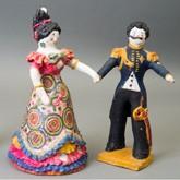Выставки народных промыслов: Дымковская игрушка, лоскутное шитье, ткачество