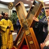 В Москву привезли крест Андрея Первозванного
