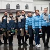Воспитанницы женского пансиона МО РФ занимаются верховой ездой в НКП «РУСЬ»