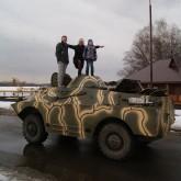 Выставку военной техники откроют в НКП РУСЬ на весенних каникулах
