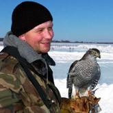 Всероссийские состязания ловчих птиц по голубю в Барсучке (ФОТО)