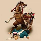 Москва попала под лошадь, - чем это заКОНЬчилось