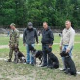 Выставки охотничьих собак. Июнь 2011