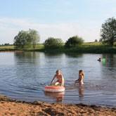 Отдых на базе Барсучок: открыт купальный сезон