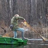 В Рыбинском водохранилище остается все меньше рыбы