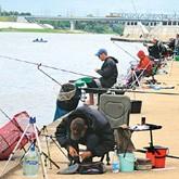 Соревнования рыболовов