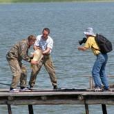 Соревнования рыболовов в июле 2011