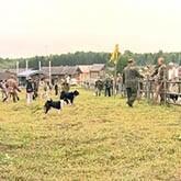 Праздник открытия осенней охоты под Вологдой
