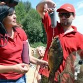 Соревнования рыболовов. Середина августа 2011