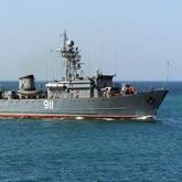 Боевые корабли Тихоокеанского флота ищут акул
