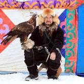 В Казахстане прошел чемпионат среди охотников с ловчими птицами