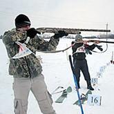 Соревнования по охотничьему биатлону. Март 2012